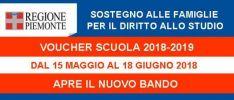 Voucher Scuola 2018-2019